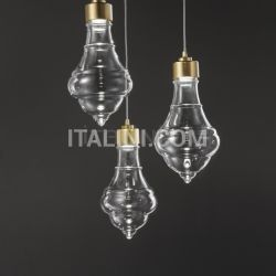 Evi Style Trottola_SO3 transparent glass SMALL - №29