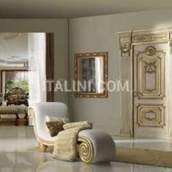 "PALAZZO FARNESE 1022S/QQ/INT topcoat ""Antica Melodia Fiorentina"", casing with cyma Trianon Classic Wood Interior Doors - №54"