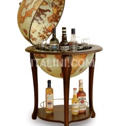 "Zofolli Aristocratic bar globe with shelf ""Atena"" - Safari - №57"