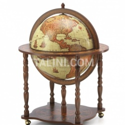 "Zofolli Large Bar Globe with Classic Zoffoli design ""Dedalo"" - Safari - №52"