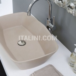Washbasin Shell Glossy white - №5