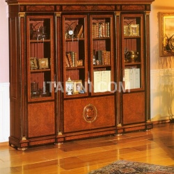 Marzorati Hand worked bookcases Castle  - IMPERO / HOME OFFICE Bookcase - №44