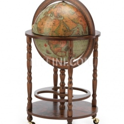 "Zofolli Elegant bar Globe with wheels ""Minerva"" - Laguna - №41"