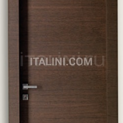 Giudetto Maxi 1011/QQ/H Brushed oak tobacco finish. Modern Interior Doors - №162