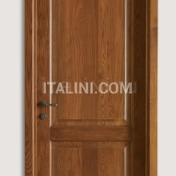 DONATELLO 1114/Q chestnut-stained Ash Smooth  Classic Wood Interior Doors - №94