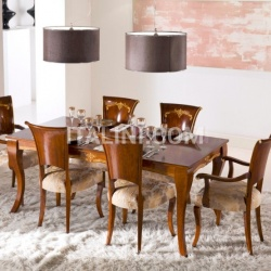 Luxury classic chairs, Art. 3309: Table, Extensible table - №84