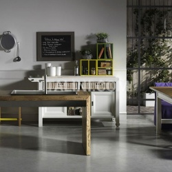 Lottocento One wood workstation - №217