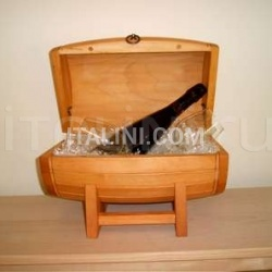 Corgnali Sedie Botte Ribolla - Wood chair - №111