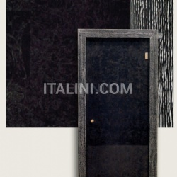 Giudetto Glass 1900V/QQ/VB Type B glass (layered with silver foil). Modern Interior Doors - №193