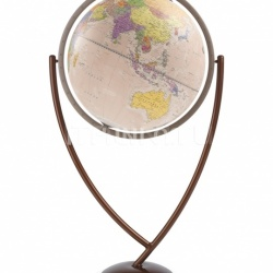 """Colombo 60"" contemporary design floorstanding globe - Pink Political - №123"