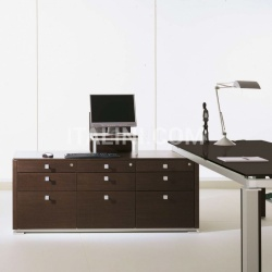 Ideal Form Team Electa Limed Oak Desk - №25