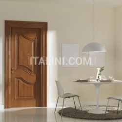 PALAZZO REALE 1032/QQ  medium dark oak wood glazed Classic Wood Interior Doors - №60