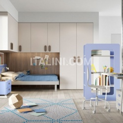 Mistral Bedroom with overbed unit 23 - №25