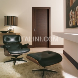 Mart Stam 1903/QQ Brushed oak tobacco finish. Modern Interior Doors - №186