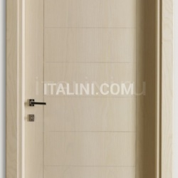 GIUDETTO 1011/QQ/INC Bleached ash with incisions, Cover moulding 8/7 Modern Interior Doors - №226