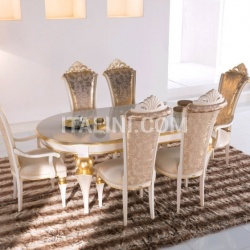 Luxury classic chairs, Art. 3318: Table - №81