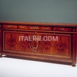Wooden sideboard Hotel  - DUCALE DUCCR4P / Sideboard with 4 doors - №11