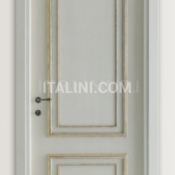 PIETRALTA 1324/QQ Silver-grey painted door Classic Wood Interior Doors - №20
