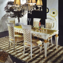 Luxury classic chairs, Art. 3194: Table, Extensible table - №103