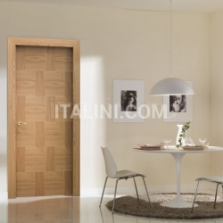 Giudetto Patch 1011/QQ/PW2 Natural patchwork elm (type 2). Modern Interior Doors - №205