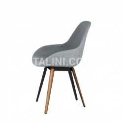 Kubikoff Slice Dimple Tailored Chair - №9