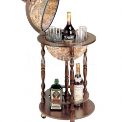 "Zofolli ""Allegro"" small floor bar globe on wheel - №157"
