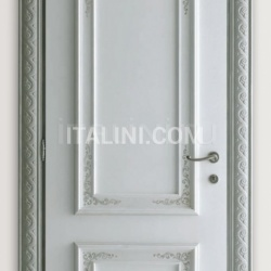 PIETRALTA 1324/QQ Ice coloured sponge painted door Classic Wood Interior Doors - №21