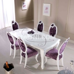 Luxury classic chairs, Art. 3297: Table - №89