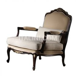 Faber Carved armchair with seat and fully padded back BR.0253 - №16
