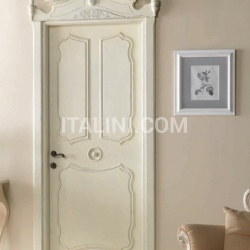 AIX EN PROVENCE 7016/QQ with Aix en Provence archway Antique-effect RAL 9010 Decape with wax finish Classic Wood Interior Doors - №46
