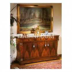 Marzorati Sideboard in wood Halls  - 99 NOCE / 3 doors sideboard - №5