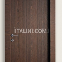 Giudetto PCP 1011/QQ/A Multilaminar walnut tobacco finish. Modern Interior Doors - №170
