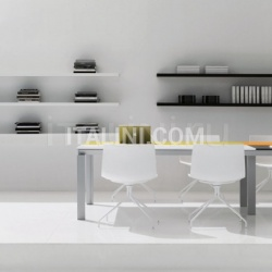 Han meeting table width 5200mm with lacquered tops. - №79