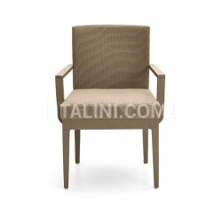 Varaschin CONTOUR chair with armrests - №100