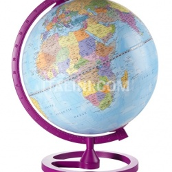 "Zofolli ""Colour Circle"" educational desk globe - Cherry - №104"