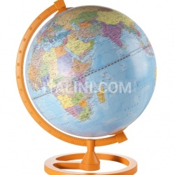 "Zofolli ""Colour Circle"" educational desk globe - Orange - №105"