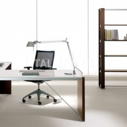 Ideal Form Team Electa Limed Oak Desk - №26
