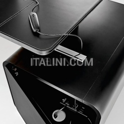 Ideal Form Team Sestante White Leather Desk - №17