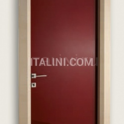 Giudetto LAC 1011/QQ Gloss brush lacquered RAL 3005. Modern Interior Doors - №179