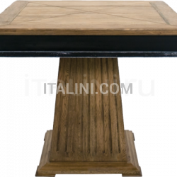 Ocean Contract ORVIETO 2 BICOLOR TOP TABLE - BASE ROMANO - №39