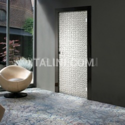 Giudetto Glass 1900V/QQ/VA Type A glass (tempered layered with fabric). Modern Interior Doors - №192