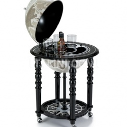 "Zofolli ""Elegance"" bar globe on casters - Black/Warm Grey - №109"