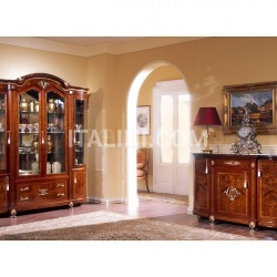Marzorati Luxury showcases Living room furniture  - DUCALE DUCSO4PB / Display cabinet with 4 doors B - №17