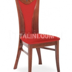 Button I - Wood chair - №13