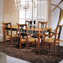 Bello Sedie Luxury classic chairs, Art. 3063: Table, Extensible table - №116