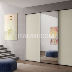 Mistral Wardrobe with sliding doors Anta Liscia - №35