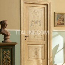DONATELLO 1114/Q Sponged coating Classic Wood Interior Doors - №97