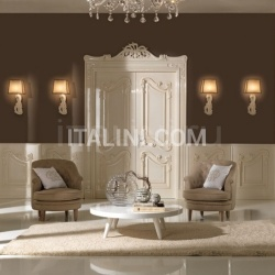 New Design Porte PALAZZO REALE con intagli 1032/QQ/INT casing with cyma Palazzo Reale Classic Wood Interior Doors - №65
