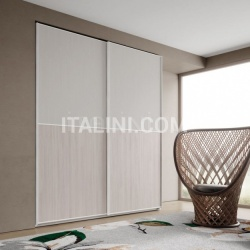 Mistral Wardrobe with sliding doors Anta Quadra - №36