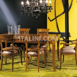 Bello Sedie Luxury classic chairs, Art. 3091: Table, Extensible table - №114